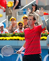 Tenis. Mutua Madrid Open. Verdasco vs Berdych  11/5/2012