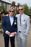 Nigel Havers and Stephen Tomkinson<br /> at the Chelsea Flower Show 2018, London<br /> <br /> ©Ash Knotek  D3402  21/05/2018
