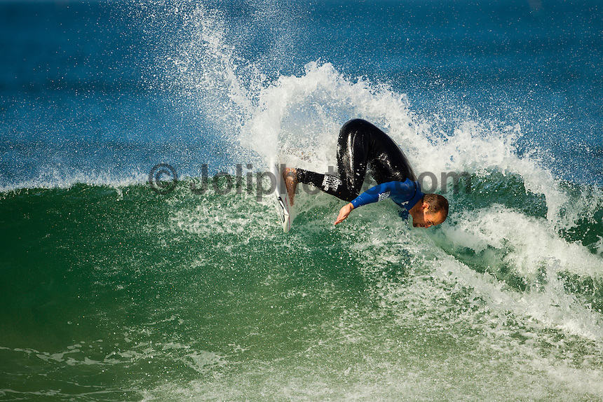 SUPERTUBOS, Peniche/Portugal (Monday, October 15, 2012) CJ Hobgood (USA). - The Rip Curl Pro Portugal was put on hold for most of the morning today giving some of the Top 34 a chance to free surf the waves on offer at Supertubes..Photo: joliphotos.com