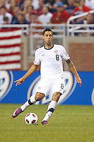 7 June 2011: USA Men's National Team forward Clint Dempsey (8) during the CONCACAF soccer match between USA and Canada at Ford Field Detroit, Michigan. USA won 2-0.