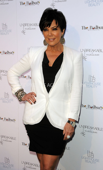 WWW.ACEPIXS.COM . . . . . ....April 4 2011, Los Angeles....Kris Jenner at the 'Unbreakable' Fragrance Launch at The Redbury on April 4, 2011 in Los Angeles, CA....Please byline: PETER WEST - ACEPIXS.COM....Ace Pictures, Inc:  ..(212) 243-8787 or (646) 679 0430..e-mail: picturedesk@acepixs.com..web: http://www.acepixs.com