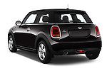 Car pictures of rear three quarter view of a 2015 MINI MINI Cooper 3 Door Hatchback Angular Rear