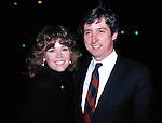 Jane Fonda and husband Tom Hayden<br /> Attending the Premiere of ON GOLDEN POND at Cinema 1 Theatre, New York City.<br /> December 1981