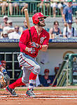 20 March 2015: Washington Nationals outfielder Bryce Harper in Spring Training action against the Houston Astros at Osceola County Stadium in Kissimmee, Florida. The Nationals defeated the Astros 7-5 in Grapefruit League play. Mandatory Credit: Ed Wolfstein Photo *** RAW (NEF) Image File Available ***