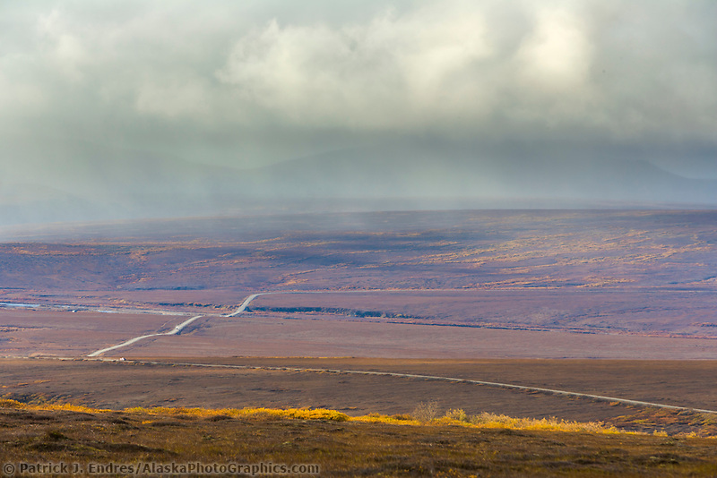 Teller highway stretches from Nome to Teller on the Seward Peninsula, arctic, Alaska.