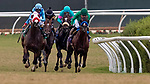 SEPT 01: Victor Espinoza and Nolde win the Del Mar Derby at Del Mar Thoroughbred Club in Del Mar, California on September 01, 2019. Evers/Eclipse Sportswire/CSM