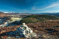 Creagan an Fhithich (Truim Woods Viewpoint), Glen Truim, near Newtonmore