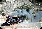 D&amp;RGW #361 C-21 is returning for second half of train.<br /> D&amp;RGW  Cimarron, CO  Taken by Maxwell, John W.