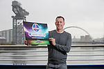 BT Sport pundit Chris Sutton promoting the Old Firm cup semi on Sunday