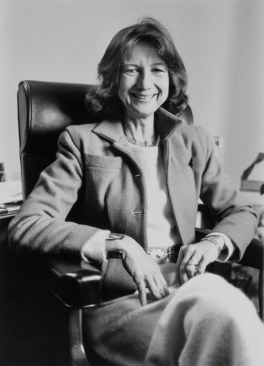 Portrait of Rep. Claudine Schneider, R-R.I., on May 22, 1990 (Photo by Andrea Mohin/CQ Roll Call)