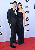 07 June 2018 - Hollywood, California - Keith Lieberthal, Julianna Margulies. American Film Institute' s 46th Life Achievement Award Gala Tribute to George Clooney held at Dolby Theater.  <br /> CAP/ADM/BT<br /> &copy;BT/ADM/Capital Pictures