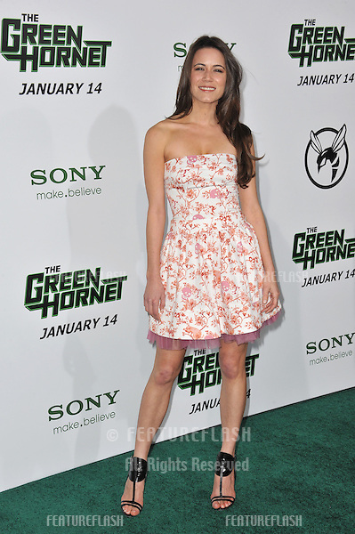 "Nathalie Fay at the Los Angeles premiere of ""The Green Hornet"" at Grauman's Chinese Theatre, Hollywood..January 10, 2011  Los Angeles, CA.Picture: Paul Smith / Featureflash"