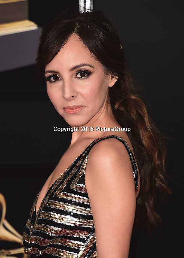 NEW YORK - JANUARY 28:  Lilliana Vazquez at the 60th Annual Grammy Awards at Madison Square Garden on January 28, 2018 in New York City. (Photo by Scott Kirkland/PictureGroup)