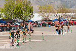 Members of Sonora High Trap Club compete during the California Youth Shotgun Shooting Association's championship shootout at the Capitol City Gun Club in Carson City, Nev. on Saturday, May 2, 2015.<br /> Photo by Kevin Clifford/Nevada Photo Source