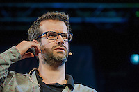 Tuesday 27 May 2014, Hay on Wye, UK<br /> Pictured: Marcus Brigstoke<br /> Re: The Hay Festival, Hay on Wye, Powys, Wales UK