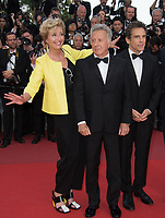 Emma Thompson, Dustin Hoffman &amp; Ben Stiller at the premiere for &quot;The Meyerowitz Stories&quot; at the 70th Festival de Cannes, Cannes, France. 21 May  2017<br /> Picture: Paul Smith/Featureflash/SilverHub 0208 004 5359 sales@silverhubmedia.com