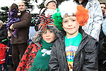 Hugh Ayres and Pascal Ayres St Patricks Day parade in Slane..Picture: Fran Caffrey / www.newsfile.ie ..
