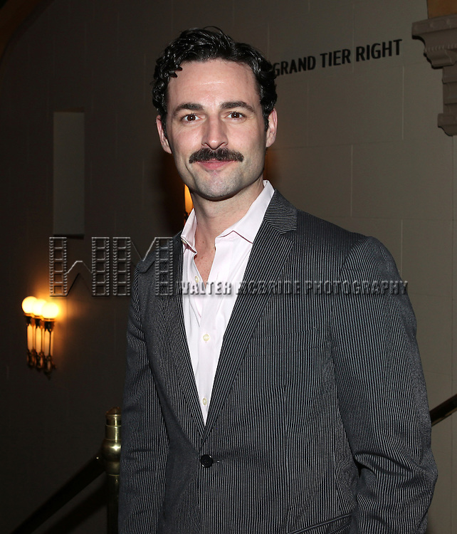 Max von Essen.attending the reception for the final performance of the New York City Center ENCORES! Production of 'Gentlemen Prefers Blondes' at City Center in New York City on 5/13/2012.