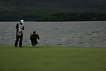 Padraig Harrington lines up his putt ont he forth on day three of the 3 Irish Open, at the Killarney Golf and Fishing Club, Killarney, Ireland.Picture Fran Caffrey/www.golffile.ie.