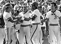Oakland A's walk off Home Run...by Dwayne Murphy<br />
