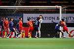 Two team groups, <br /> DECEMBER 11, 2017 - Football / Soccer : <br /> EAFF E-1 Football Championship 2017 Women's Final match <br /> between Japan 1-0 China <br /> at Fukuda Denshi Arena in Chiba, Japan. <br /> (Photo by Naoki Nishimura/AFLO SPORT)