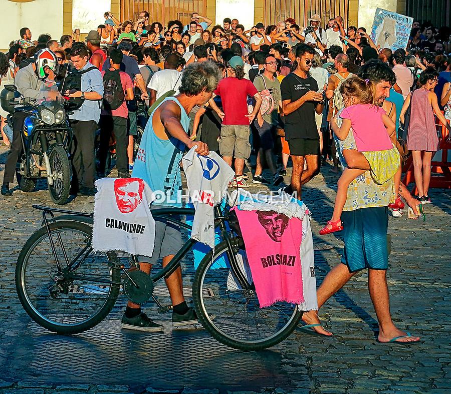 Manifestaçao contra censura do governo do estado a exposiçao na Casa França-Brasil, Rio de Janeiro. 2019. Foto de Juca Martins