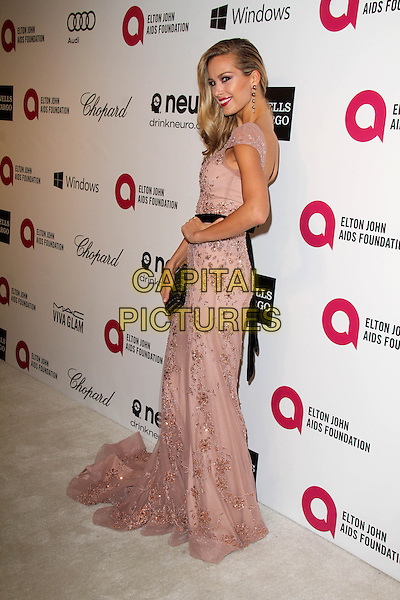 WEST HOLLYWOOD, CA - March 02: Petra Nemcova at the 22nd Annual Elton John AIDS Foundation Oscar Viewing Party Arrivals, Private Location, West Hollywood,  March 02, 2014. <br /> CAP/MPI/JO<br /> &copy;JO/MPI/Capital Pictures
