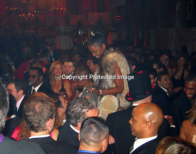 Sean P. Diddy Combs, Kim Porter<br />