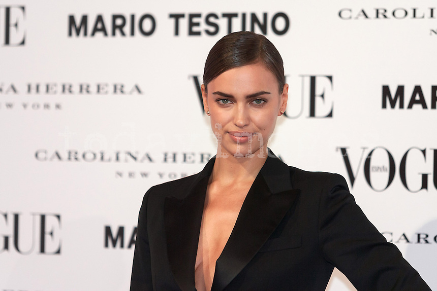 Irina Shayk at Vogue December Issue Mario Testino Party