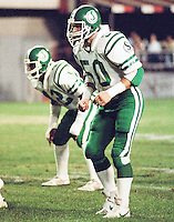 Jerry Friesen Saskatchewan Roughriders 1984. Copyright photograph Scott Grant