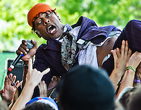 Fishbone at the 2011 Voodoo Festival in New Orleans, LA.