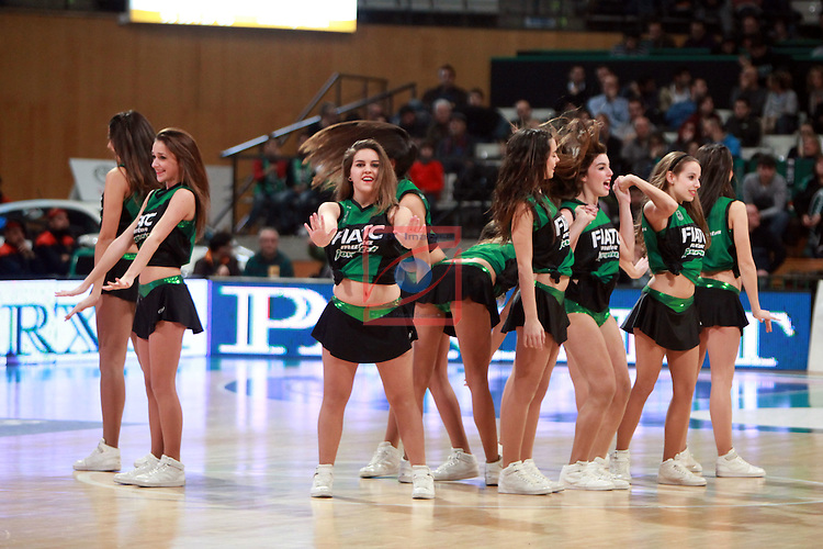 Cheerleaders StarDanceStudio. FIATC Joventut vs Cajasol: 84-82-League ENDESA 2012/13 - Game 13.