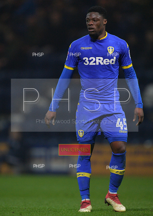 10/04/2018 Sky Bet League Championship Preston North End v Leeds United<br /> <br /> Caleb Ekuban, Leeds United FC