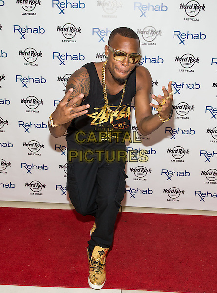 LAS VEGAS, NV - June 1 : Bobby Ray Simmons, Jr. AKA B.O.B. performs at Rehab Pool Party at Hard Rock Hotel &amp; Casino in Las Vegas, NV on June 1, 2014.  <br /> CAP/MPI/RTNKabik<br /> &copy;RTNKabik/MediaPunch/Capital Pictures