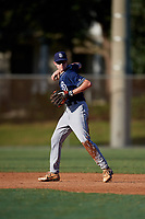 Jacob Balsley during the WWBA World Championship at the Roger Dean Complex on October 19, 2018 in Jupiter, Florida.  Jacob Balsley is a shortstop from Knoxville, Tennessee who attends Bearden High School.  (Mike Janes/Four Seam Images)