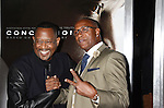 WESTWOOD, CA - NOVEMBER 23: Actors Martin Lawrence (L) and Tommy Davidson attend the screening of Columbia Pictures' 'Concussion' at the Regency Village Theater on November 23, 2015 in Westwood, California.