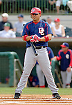 10 March 2006: Jose Vidro, second baseman  for the Washington Nationals, at bat during a Spring Training game against the Houston Astros. The Astros defeated the Nationals 8-6 at Osceola County Stadium, in Kissimmee, Florida...Mandatory Photo Credit: Ed Wolfstein..