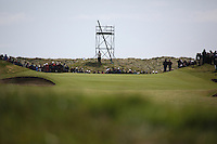 the Approach to the second hole at the final round at the 3 Irish open in Co Louth Golf Club...Photo: Fran Caffrey/www.golffile.ie..