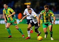 Bolton Wanderers' Gary O'Neil vies for possession with West Bromwich Albion's Craig Dawson<br /> <br /> Photographer Alex Dodd/CameraSport<br /> <br /> The EFL Sky Bet Championship - Bolton Wanderers v West Bromwich Albion - Monday 21st January 2019 - University of Bolton Stadium - Bolton<br /> <br /> World Copyright © 2019 CameraSport. All rights reserved. 43 Linden Ave. Countesthorpe. Leicester. England. LE8 5PG - Tel: +44 (0) 116 277 4147 - admin@camerasport.com - www.camerasport.com