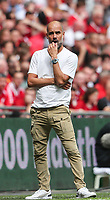 Pep Guardiola, manager of Manchester City during the FA Community Shield match between Liverpool and Manchester City at Wembley Stadium on August 4th 2019 in London, England. (Photo by John Rainford/phcimages.com)<br /> Foto PHC/Insidefoto <br /> ITALY ONLY