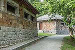 The Stony Brook Gatehouse in The Back Bay Fens, Boston, Massachusetts, USA
