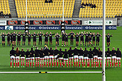 9th June 2017, Westpac Stadium, Wellington, New Zealand; International Womens Rugby; New Zealand versus Canada;  New Zealand performing the Haka during the International Women's Series