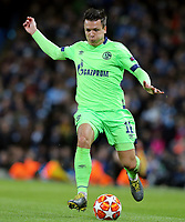 FC Schalke 04's Yevhen Konoplyanka<br /> <br /> Photographer Rich Linley/CameraSport<br /> <br /> UEFA Champions League Round of 16 Second Leg - Manchester City v FC Schalke 04 - Tuesday 12th March 2019 - The Etihad - Manchester<br />  <br /> World Copyright © 2018 CameraSport. All rights reserved. 43 Linden Ave. Countesthorpe. Leicester. England. LE8 5PG - Tel: +44 (0) 116 277 4147 - admin@camerasport.com - www.camerasport.com