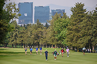 Tyrrell Hatton (ENG) makes his way down 15 during round 3 of the World Golf Championships, Mexico, Club De Golf Chapultepec, Mexico City, Mexico. 2/23/2019.<br /> Picture: Golffile | Ken Murray<br /> <br /> <br /> All photo usage must carry mandatory copyright credit (© Golffile | Ken Murray)