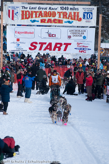 2010, Iditarod, Re-Start, Willow, Alaska, 40, PINKHAM, WILLIAM.