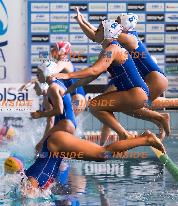 Italia Italy <br /> Avezzano 29-06-2016 Centro Federale Unipol Blue Stadium Pallanuoto Donne Italia - Cina Waterpolo Women Italy - China Foto Andrea Staccioli / Insidefoto
