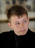 Picture shows 15 year old Ryan McLaughlin (who has campaigned on Multiple Sclerosis issues, after his mother, Kirsten, was diagnosed with the condition) at the Beardmore Hotel, Clydebank - picture by Donald MacLeod 21.09.10 - mobile 07702 319 738 - clanmacleod@btinternet.com - www.donald-macleod.com