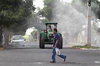 18/06/2020 - PREFEITURA DE BEBEDOURO REALIZA HIGIENIZAÇÃO DE AVENIDAS
