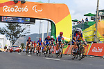 General view, <br /> SEPTEMBER 17, 2016 - Cycling - Road : <br /> Women's Road Race C4-5 <br /> at Pontal <br /> during the Rio 2016 Paralympic Games in Rio de Janeiro, Brazil.<br /> (Photo by AFLO SPORT)