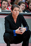 Duke Blue Devils head coach Joanne P. McCallie looks on during an NCAA college women's basketball game against the Wisconsin Badgers during the ACC/Big Ten Challenge at the Kohl Center in Madison, Wisconsin on December 2, 2010. Duke won 59-51. (Photo by David Stluka)